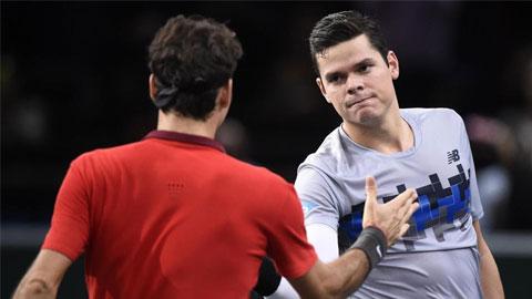 Tứ kết Paris Masters: Roger Federer và Andy Murray dừng bước