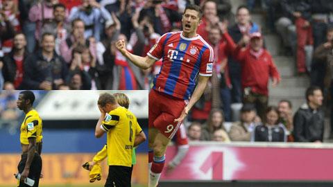 Lewandowski gặp lại Dortmund: Nỗi đau của vùng Ruhr