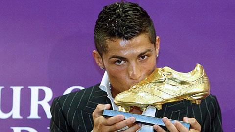 Ronaldo chính thức nhận giải Chiếc giày vàng châu Âu vào ngày 5/11