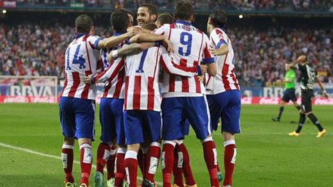Atletico Madrid 4-2 Cordoba (Vòng 10 - La Liga 2014/15)