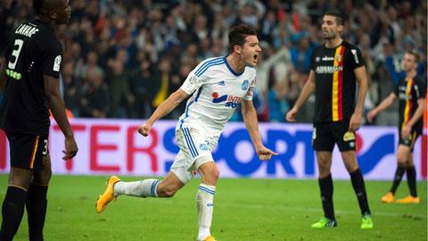 Marseille 2-1 Lens: Đạp đáy giữ đỉnh