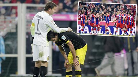 Dortmund gục ngã trước Bayern: Địa ngục thứ…7