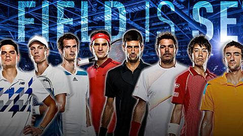 Chia bảng ATP World Tour Finals: Djokovic dễ thở, Federer gặp khó