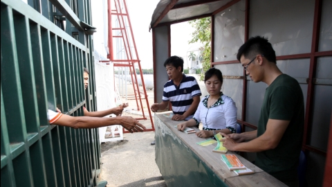 Vé xem ĐT Việt Nam đọ sức với Palestine được bán từ 6/11