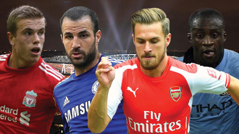 So sánh những tiền vệ box-to-box hay nhất tại Premier League