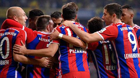 Bayern, Barcelona và PSG là bậc thầy về kiểm soát bóng