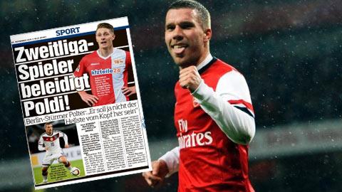 Cầu thủ trẻ bị đem so ngu ngốc như... Podolski