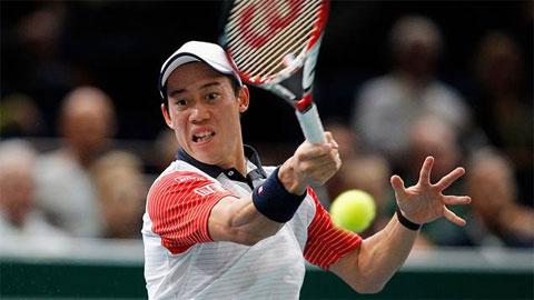 Kei Nishikori, tay vợt Châu Á đầu tiên góp mặt tại ATP World Tour Finals