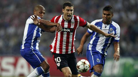 02h45 ngày 6/11, Bilbao vs Porto: Đánh sập San Mames