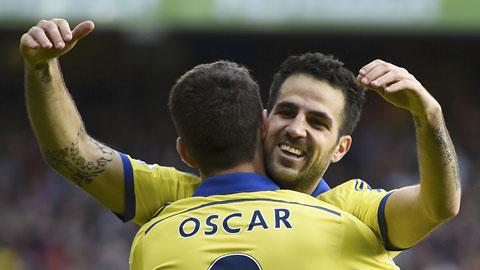 Cesc Fabregas nâng tầm Chelsea