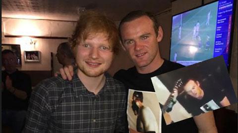 Bị ném đá, Rooney vẫn cất cao tiếng hát