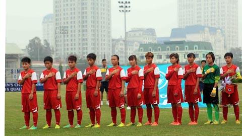 Vòng loại U19 nữ Châu Á 2015: Đại thắng Singapore, Việt Nam giành ngôi đầu bảng