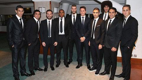Không được đá Champions League, bầu đoàn thê tử M.U tranh thủ làm từ thiện