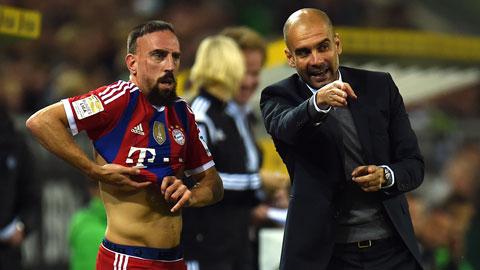 Bayern Munich: Vai trò mới của Franck Ribery