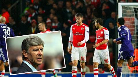 Vấn đề của Arsenal: Wenger không thể kiểm soát Ramsey