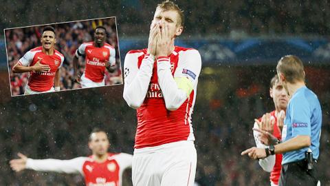 Arsenal bị gỡ 3-3 khi dẫn 3-0: Pháo thủ... vẫn vậy