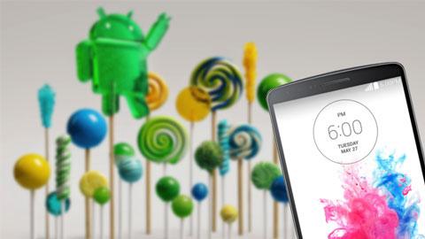Rò rỉ giao diện Android 5.0 Lollipop trên LG G3