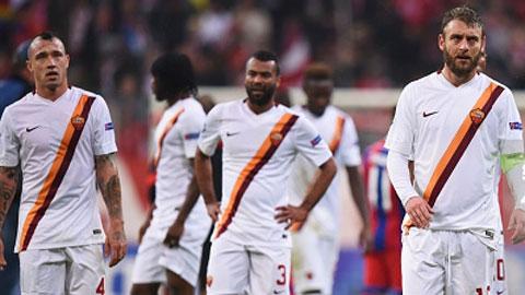 Nhìn Roma thua, thấy Serie A tụt hậu