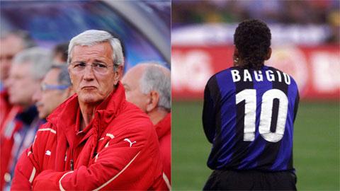 HLV Marcello Lippi và mối thù không đội trời chung với Roberto Baggio