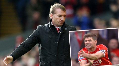 HLV Rodgers nổi giận vì Liverpool bị cướp trắng một quả penalty