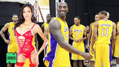 Phần thưởng sốc của L.A Lakers: Sao phim cấp ba hứa chiêu đãi… sex
