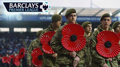 Hoa anh túc trên áo cầu thủ tại Premier League mang ý nghĩa gì?