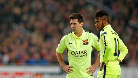 Messi và vận rủi trước khung gỗ