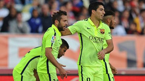 Luis Suarez là cứu cánh của Luis Enrique