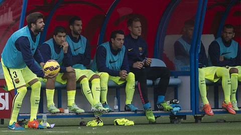 Barca cất hơn 200 triệu euro trên ghế dự bị