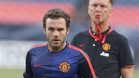 Van Gaal hứa hẹn trao cơ hội nhiều hơn cho Juan Mata