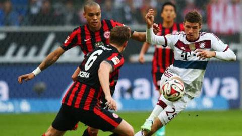 Frankfurt 0-4 Bayern: