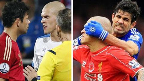 Costa & Skrtel: Hai kẻ đại thù