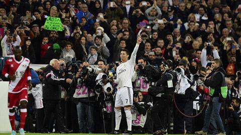 Real Madrid là cả một cỗ máy ghi bàn hủy diệt