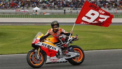MotoGP chặng cuối: Marquez kết thúc mùa giải với kỷ lục vô địch 13 chặng
