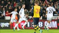 Swansea 2-1 Arsenal: Ngược dòng ngoạn mục