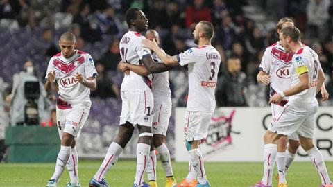 Bordeaux trở lại đường đua vô địch