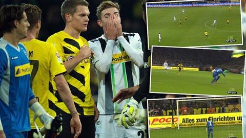 """Dortmund 1-0 M'Gladbach: Kramer """"tặng quà"""" chủ nhà"""