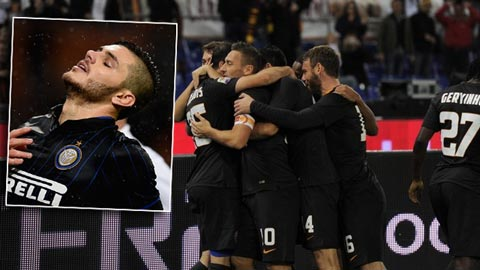 Vòng 11 Serie A: Roma tìm lại cảm hứng, Inter hòa thất vọng