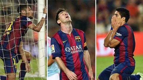 Barca: Ghi bàn bỗng trở nên khó khăn