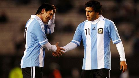 ĐT Argentina: Chờ đợi gì khi Tevez trở lại?