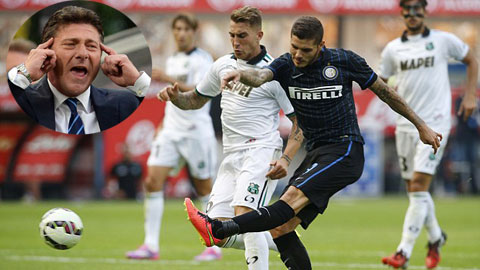 Inter chia rẽ vì Mazzarri