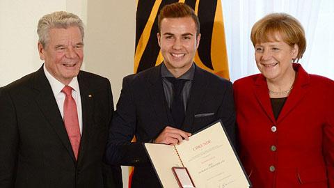 Người hùng World Cup được trao tặng huân chương nhà nước Đức