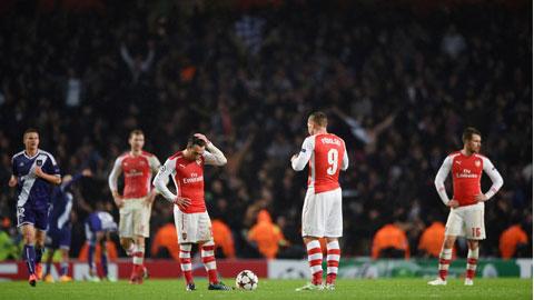 Không cần là Einstein để hiểu vấn đề của Arsenal