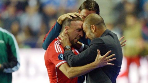 Ribery thừa nhận tiến bộ nhờ HLV Guardiola