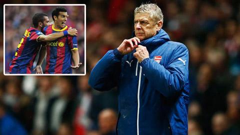 Arsenal chi 30 triệu bảng mua bộ đôi của Barcelona