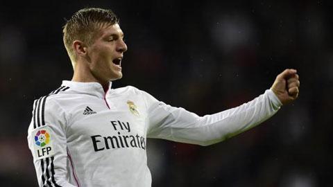 """Toni Kroos: Người hồi sinh """"chiếc áo số 8"""""""