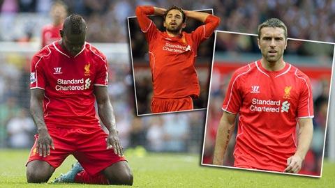 """Gần 1.000 phút, hàng công Liverpool không """"phát hỏa"""""""