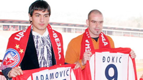 Sanna.KH thử việc cựu cầu thủ Red Star Belgrade