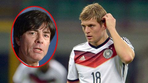 ĐT Đức: Đã đến lúc Kroos lĩnh ấn