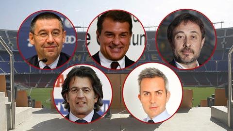 Những điều cần biết về cuộc bầu cử chủ tịch Barcelona